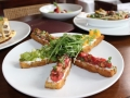 Vincent Chiccos: Heirloom tomato Bruschetta