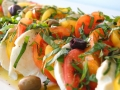 Caviar and Bananas: Simple Summer Heirloom Caprese Salad